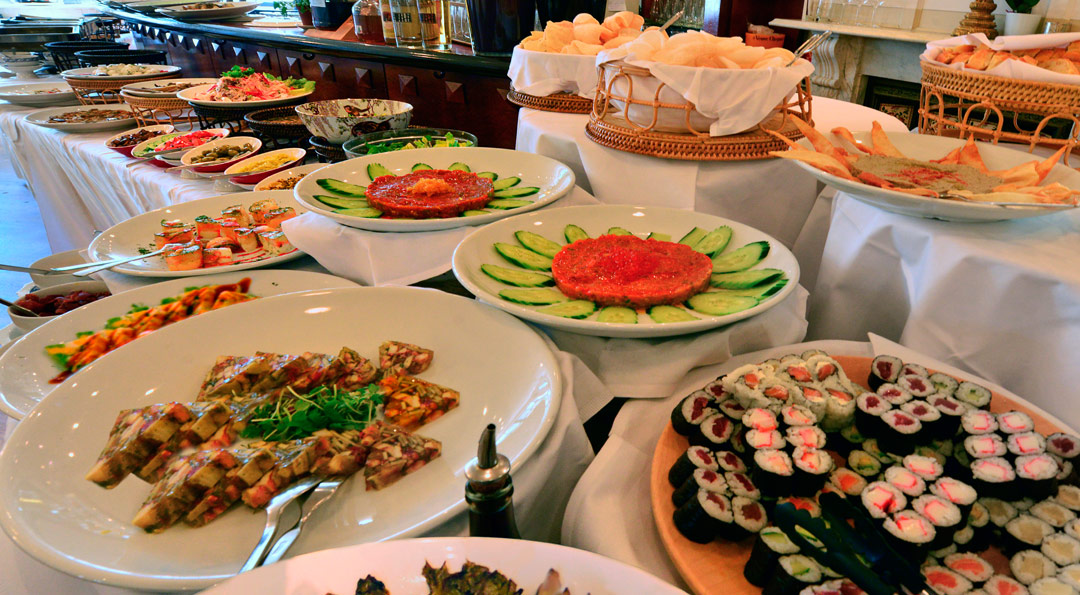 Buffet - Thai - Sushi - Asia - Japan