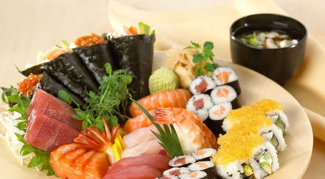 Take Away: Sushi, Asia, Thai, Japan